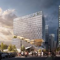 OMA reveals designs for severed block on Boston's waterfront