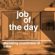 Job of the day: marketing coordinator at LOHA