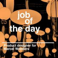 Job of the day: product designer for Marcel Wanders