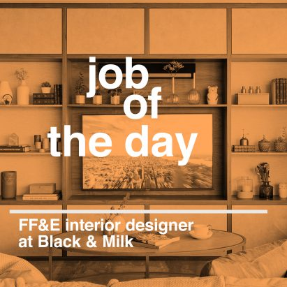 Job of the day ff e interior designer at black milk for Interior design recruitment agency london