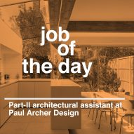 Job of the day: Part-II architectural assistant at Paul Archer Design