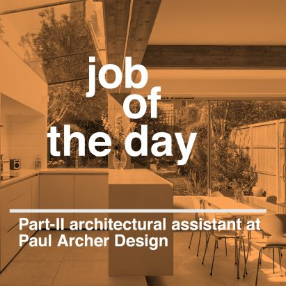 Job of the day part ii architectural assistant at paul for Interior design assistant jobs london