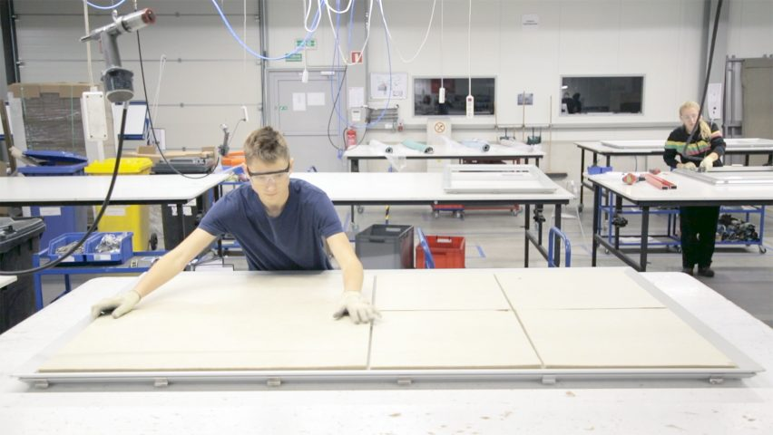 Kvadrat Soft Cells factory