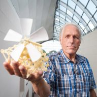Theo Jansen creates giant wind-powered Strandbeest sculptures