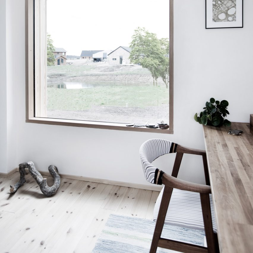 Danish Home Design Ideas: Sigurd Larsen Designs Affordable Homes For Eco-housing