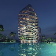 Zaha Hadid Architects plans residences in tropical setting near Cancún