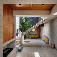 Welsh + Major slots lightwell between Sydney cottage and its brick extension