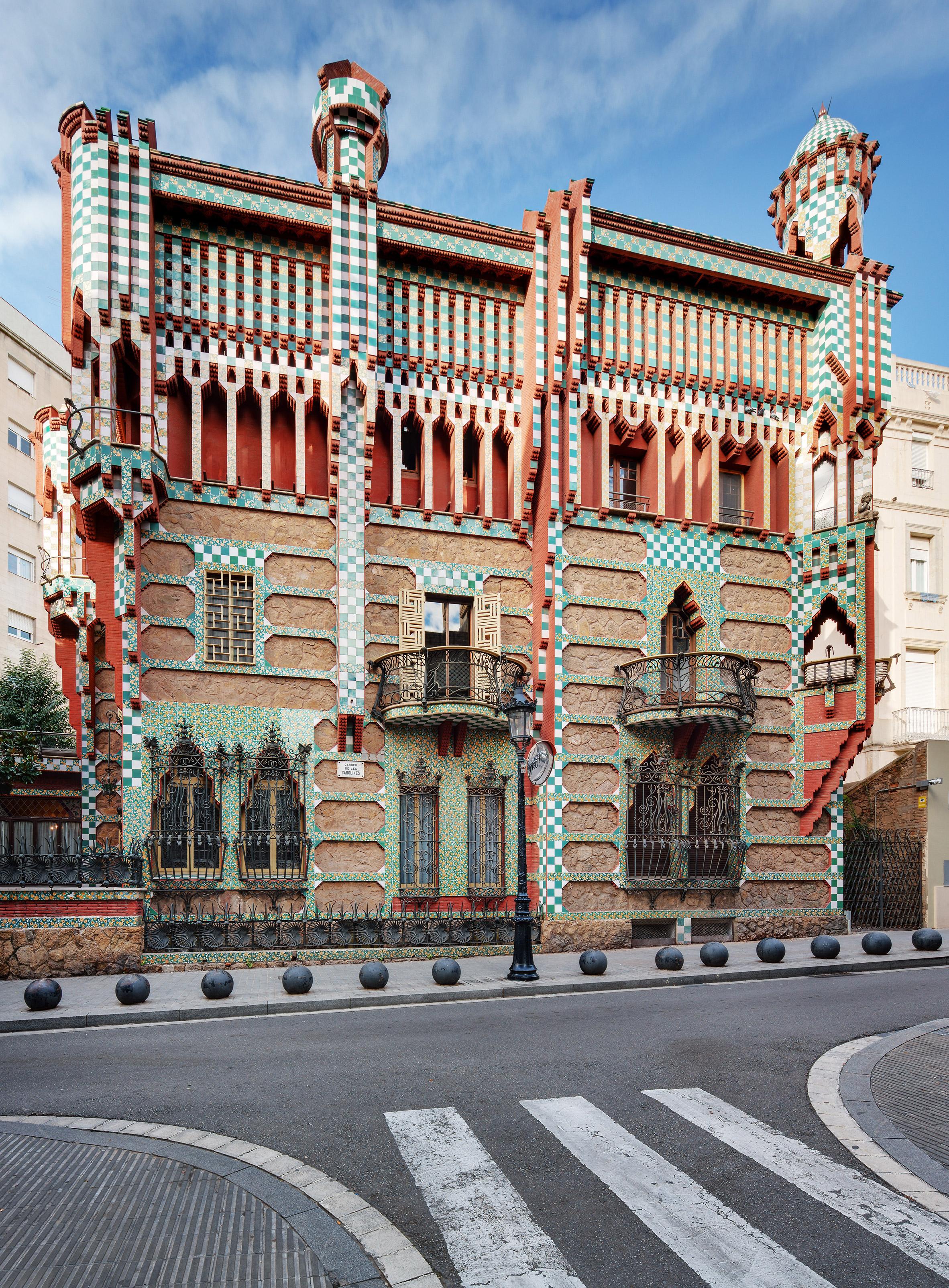 casa vicens à Barcelone - ouverture 2017
