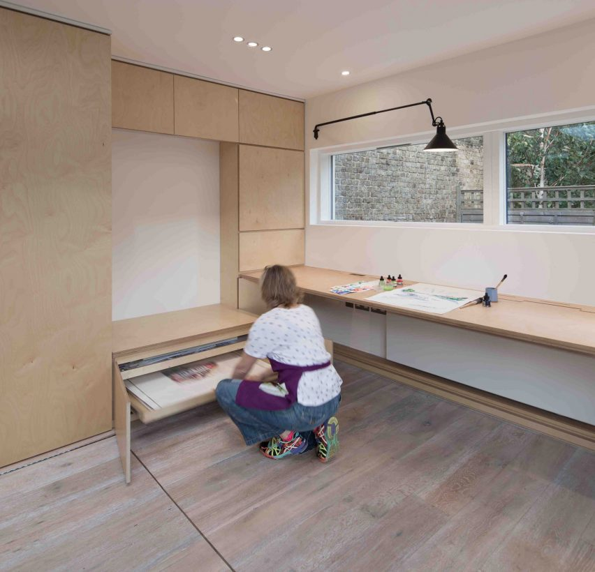 Artists studio by Silver&Co