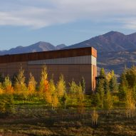 Studio B pairs weathering steel with red cedar for extension to remote Colorado school