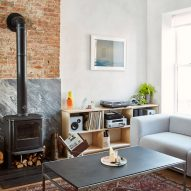 Lauren Snyder and Keith Burns create home inside overhauled brownstone in Brooklyn