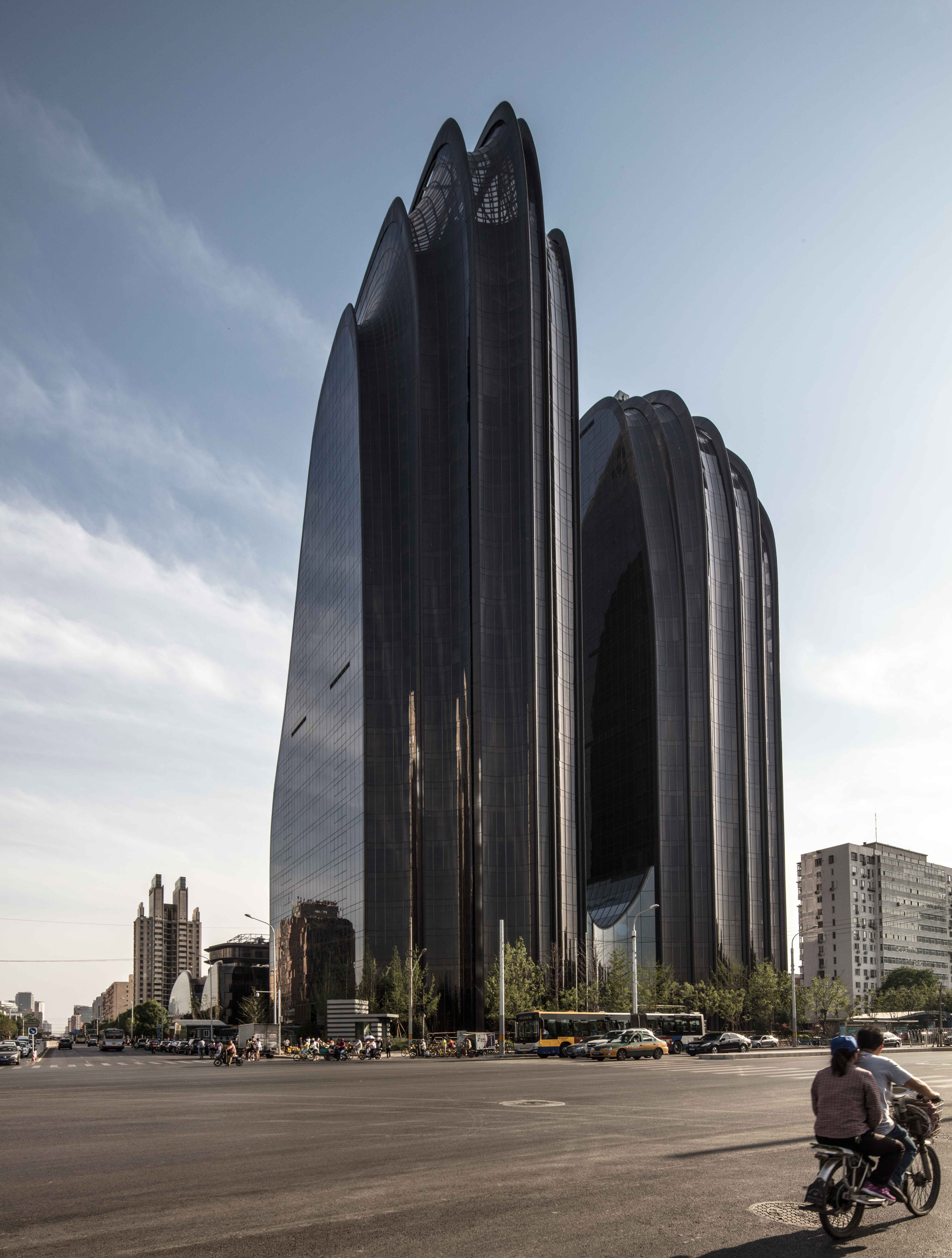 Beijing tower by MAD