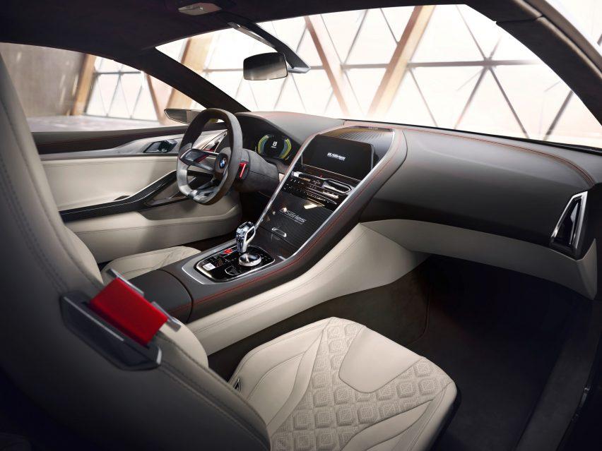 "bmw unveils concept 8 series coupe designed as a ""driver's car"""
