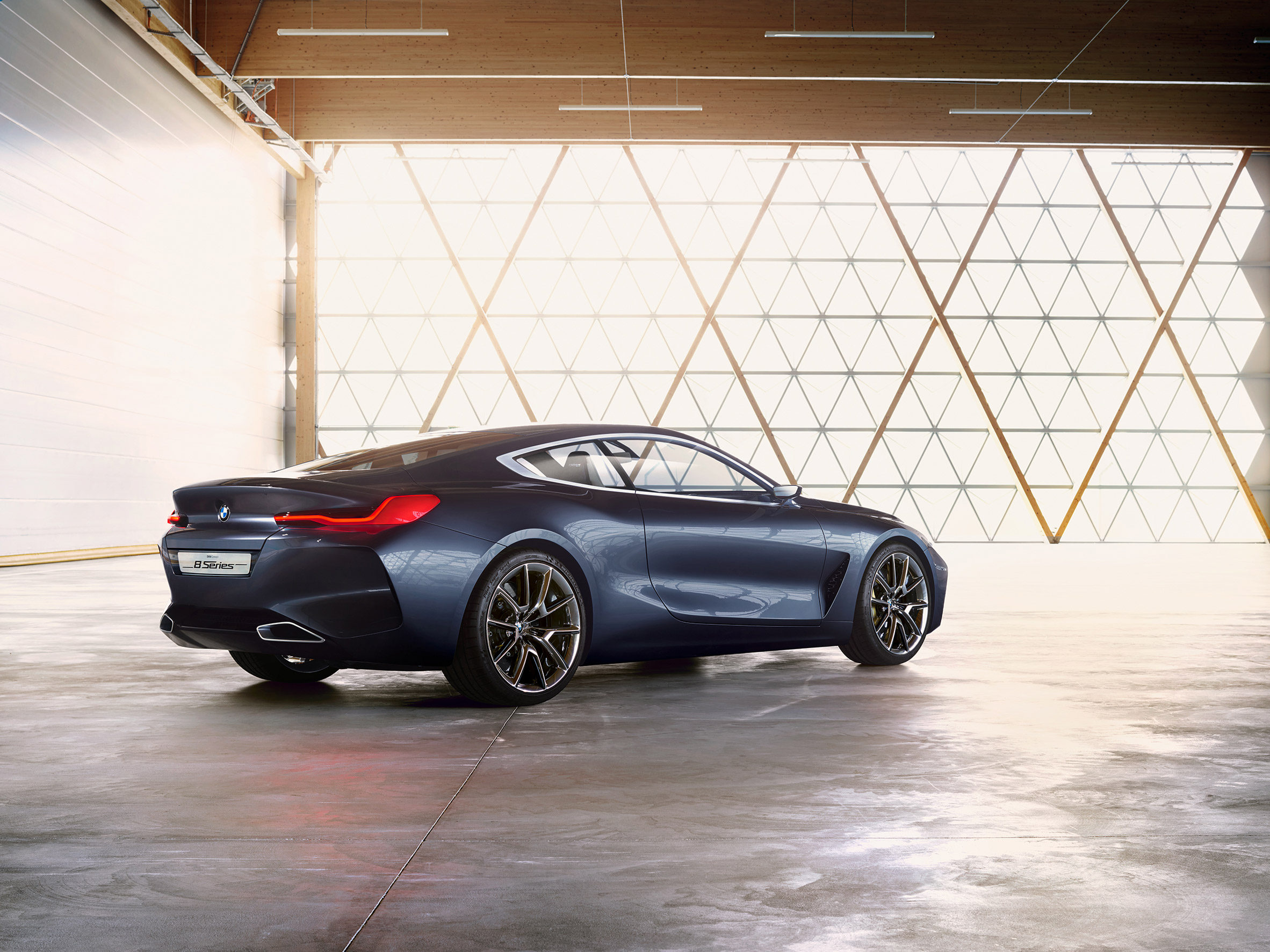 "BMW unveils Concept 8 Series coupe designed as a ""driver's car"""