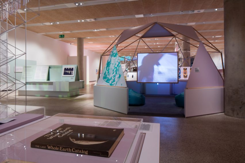 Charming The Exhibition Design Is Informed By Geodesic Domes, A Favourite Form Of  Architecture Among Hippies In The 1960s And 70s