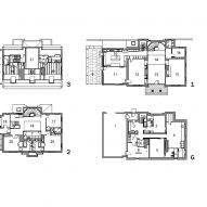 Floor plan of Cambridge Residence by Stern McCaffery Architects
