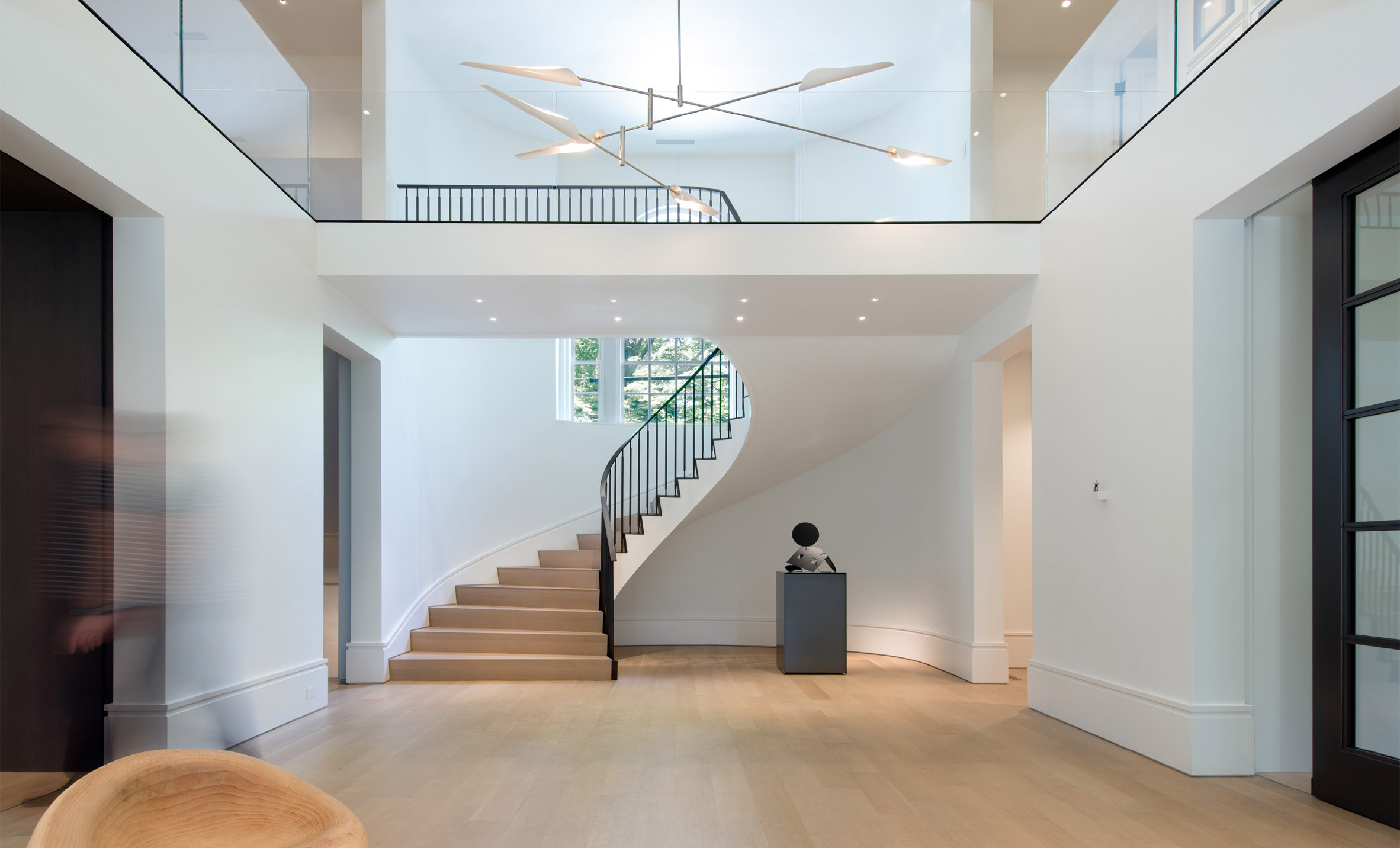 Stern McCaffery Architects converts entrance of old Massachusetts house into a gallery