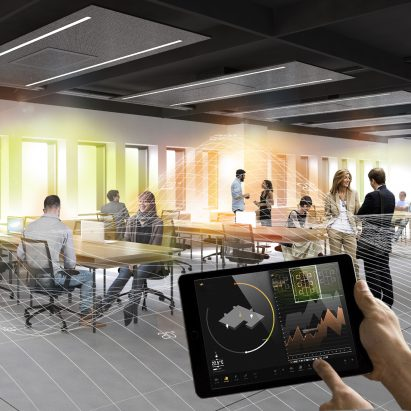 Smart office climate control projects by Carlo Ratti Associati