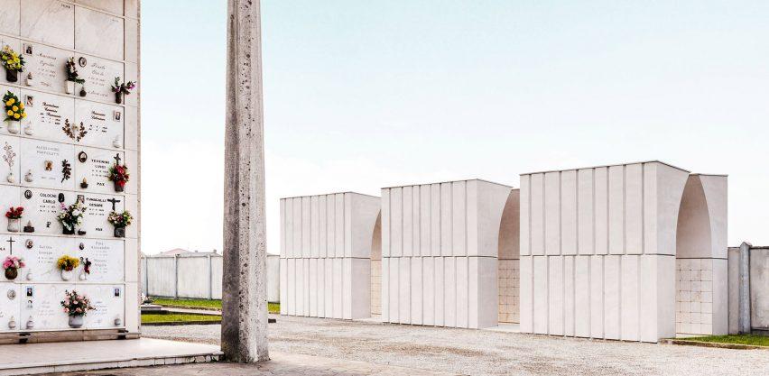 Cemetery in Dalmine by CN10 Architetti