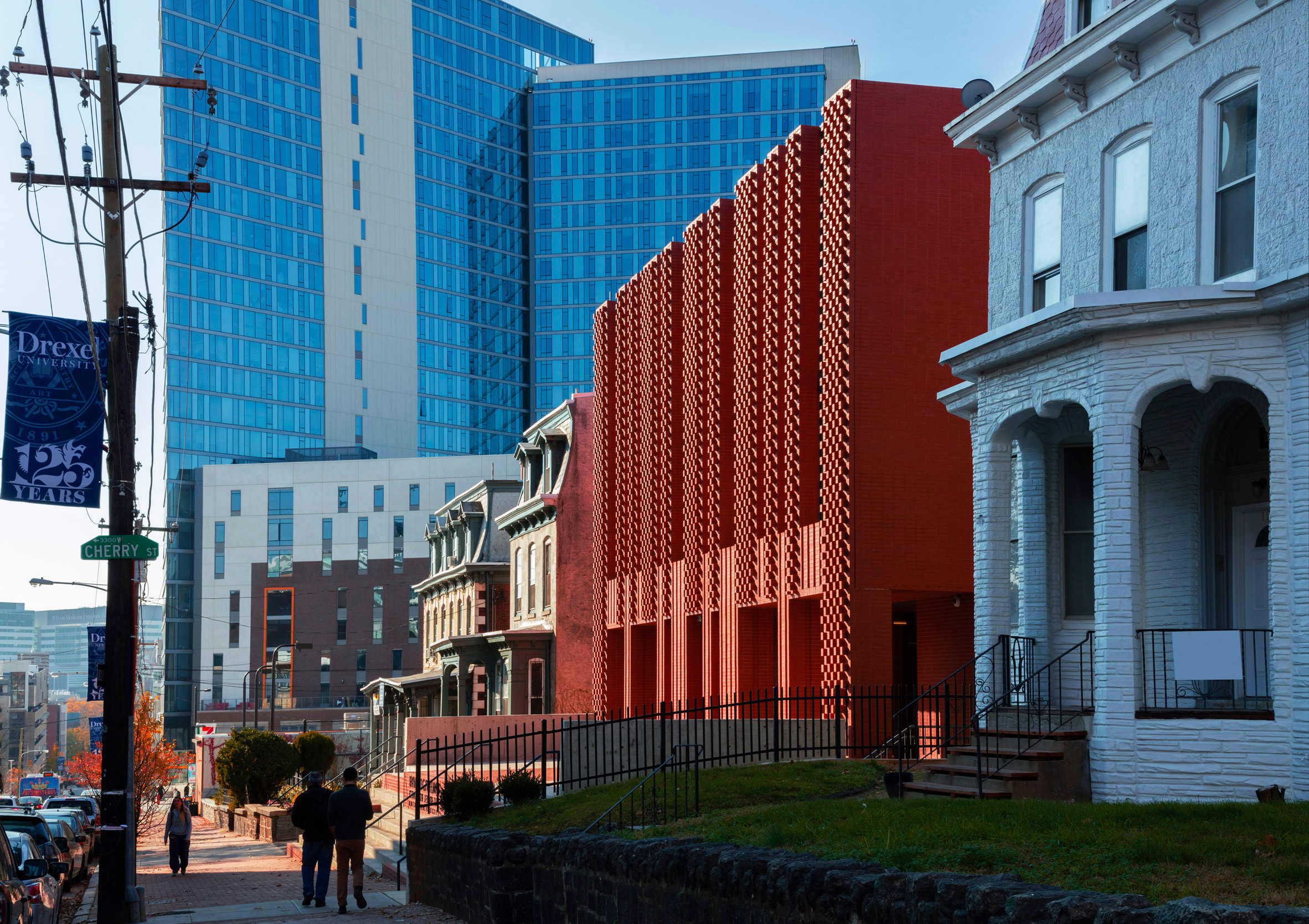 Center for Jewish Life at Drexel University by Stanley Saitowitz   Natoma Architects Inc.