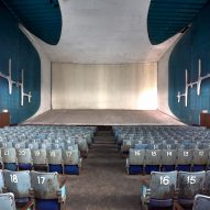 New photographs offer a look inside a modernist theatre in Le Corbusier's Chandigarh