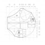 Basement floor plan for Circus Conservatory by Höweler + Yoon Architecture