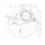 Ground floor plan for Circus Conservatory by Höweler + Yoon Architecture