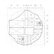 First floor plan for Circus Conservatory by Höweler + Yoon Architecture