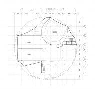 Second floor plan for Circus Conservatory by Höweler + Yoon Architecture