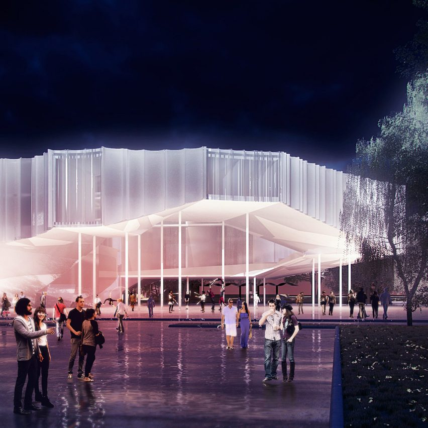 Big Top Tents Inform Building For America 39 S First Circus