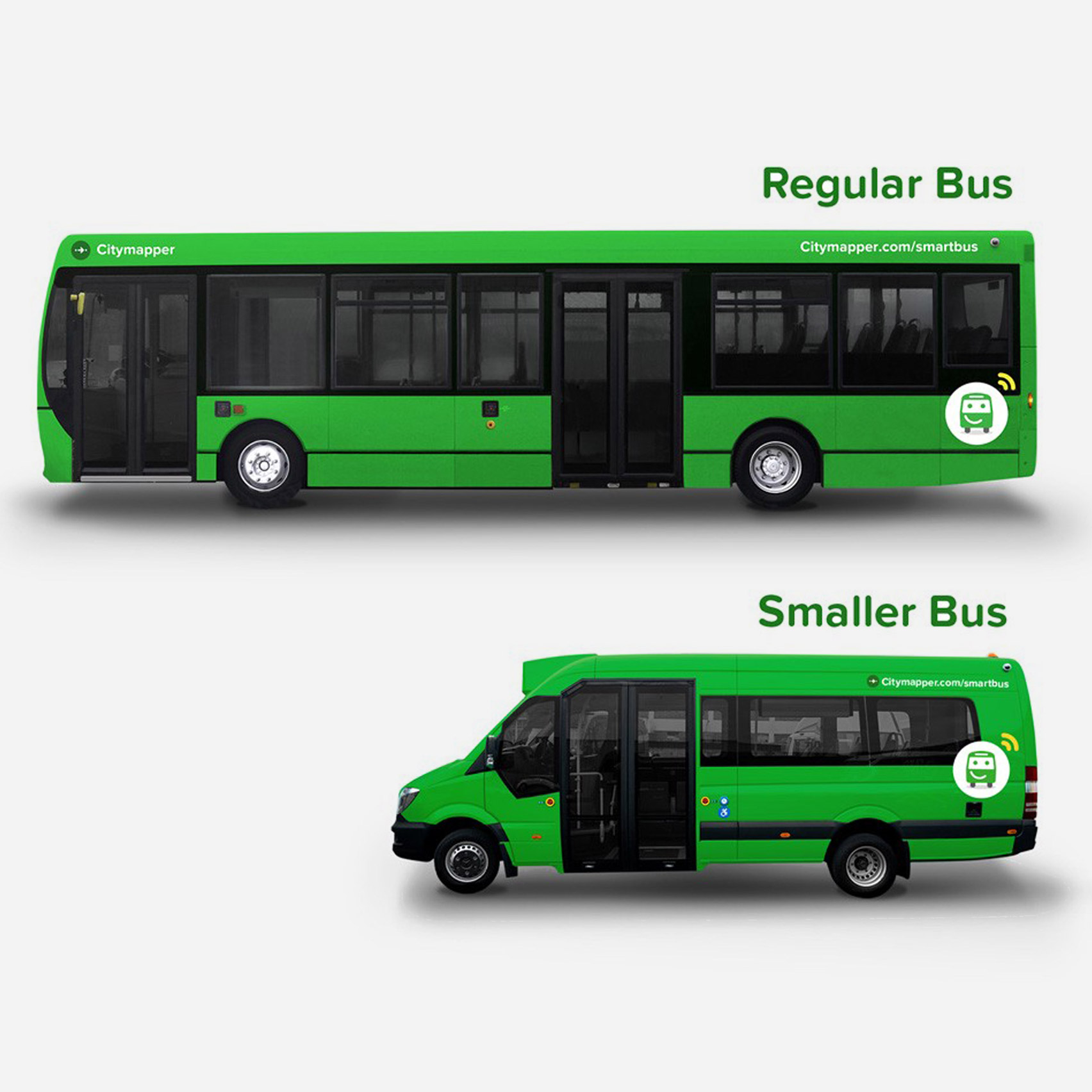"Citymapper ""redesigns the bus"" with new London transport service based on demand"