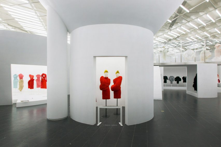 Comme des Garçons fashion exhibition at The Met in New York; Gallery View, Absence/Presence