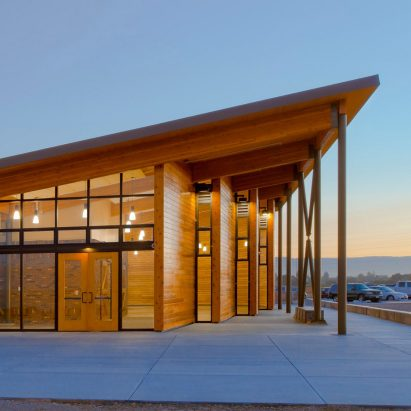 Cooley Landing Education Center by FOG Studio
