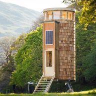 "Eight pop-up ""glamping"" cabins built to tour the Welsh countryside"