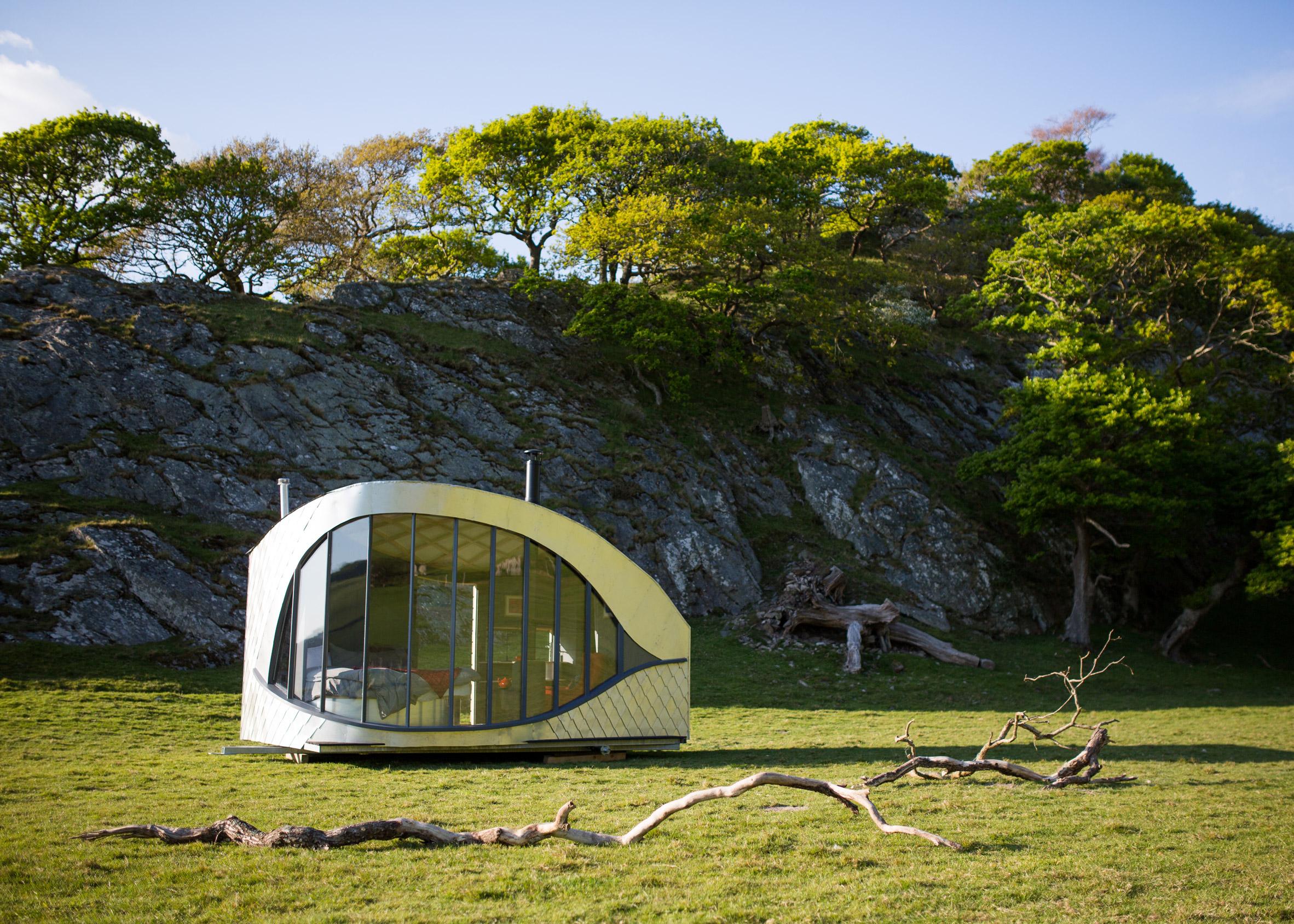 Epic retreat huts