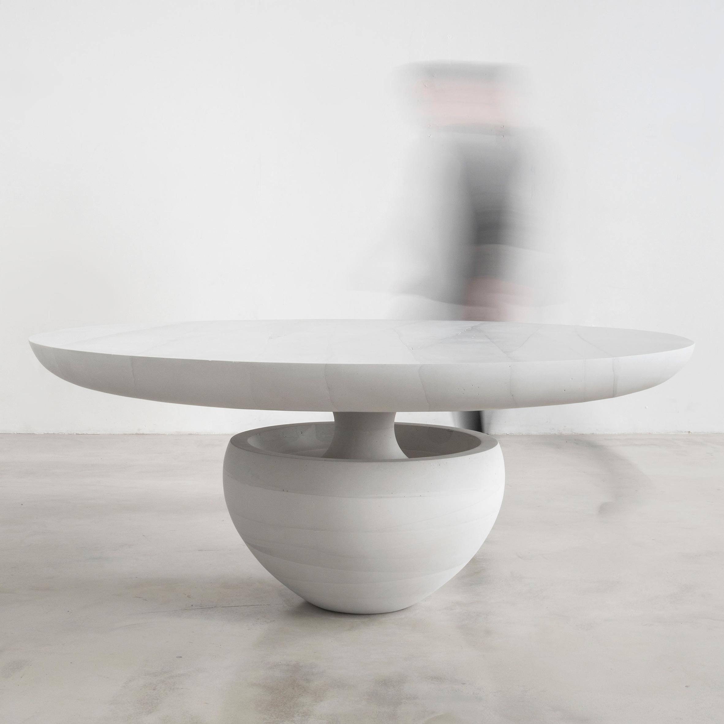 Ghost dining table by Fernando Mastrangelo