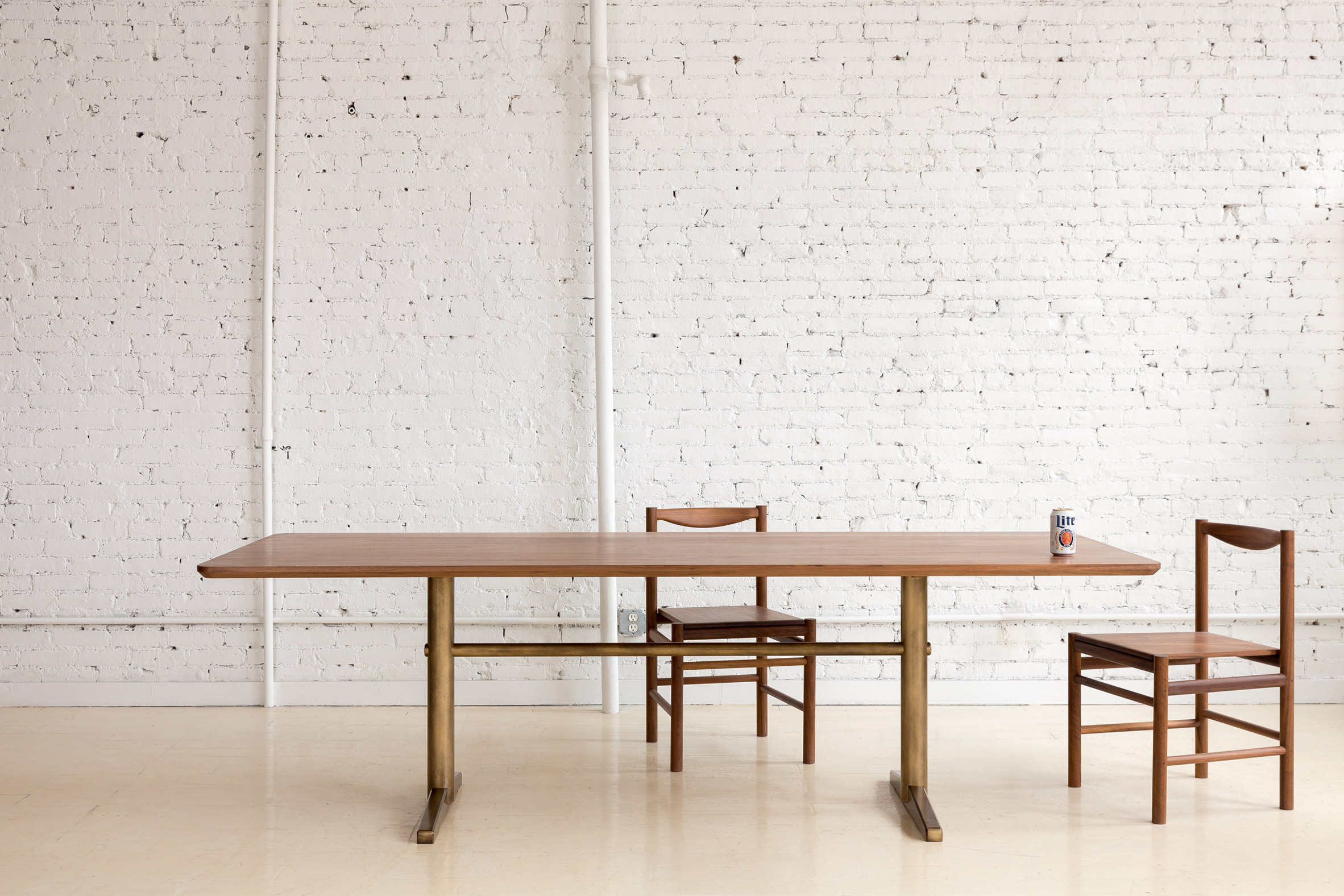 Fort Standard unveils range of minimal metal furniture