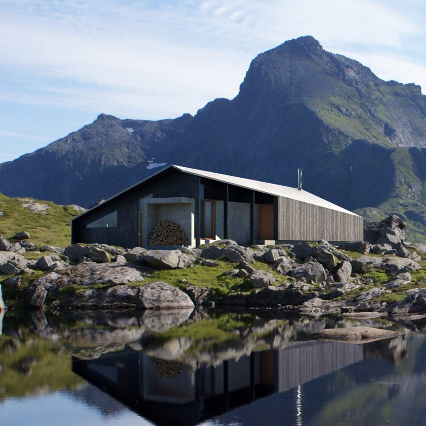 Sn 248 Hetta S Prefab Gapahuk Cabin References A Traditional