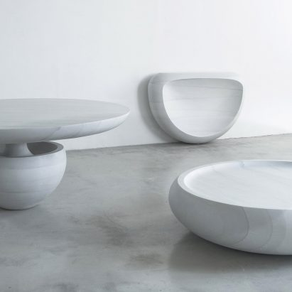Ghost furniture by Fernando Mastrangelo