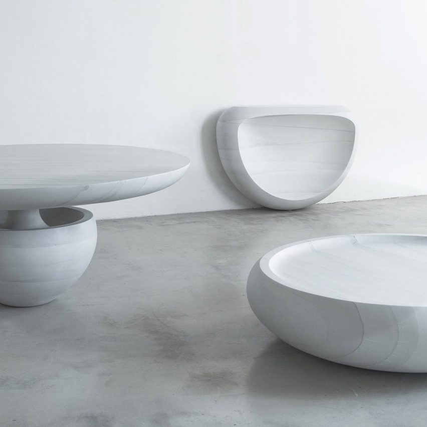Ghost furniture by Fernando Mastrangelo