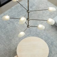 Rich Brilliant Willing launches modernist-style chandelier and pendants on hoists