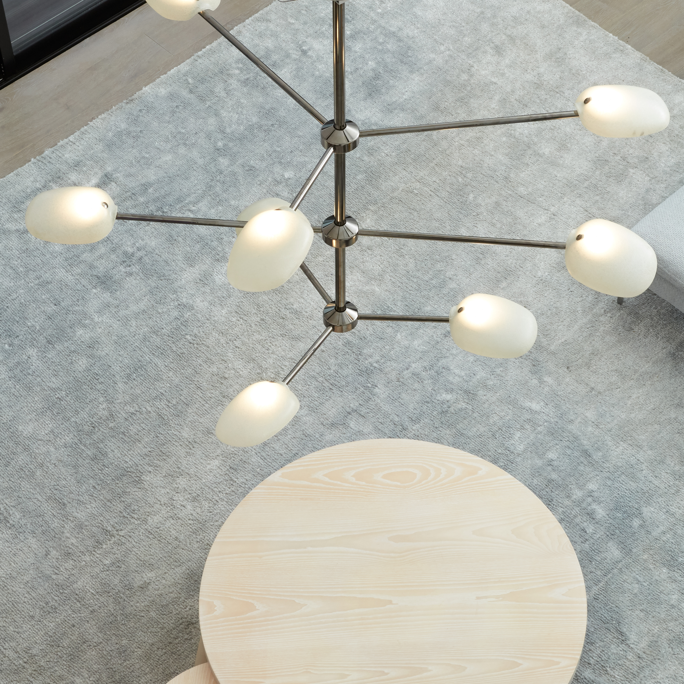 watch 4f8c4 a7828 Rich Brilliant Willing launches modernist-style chandelier ...