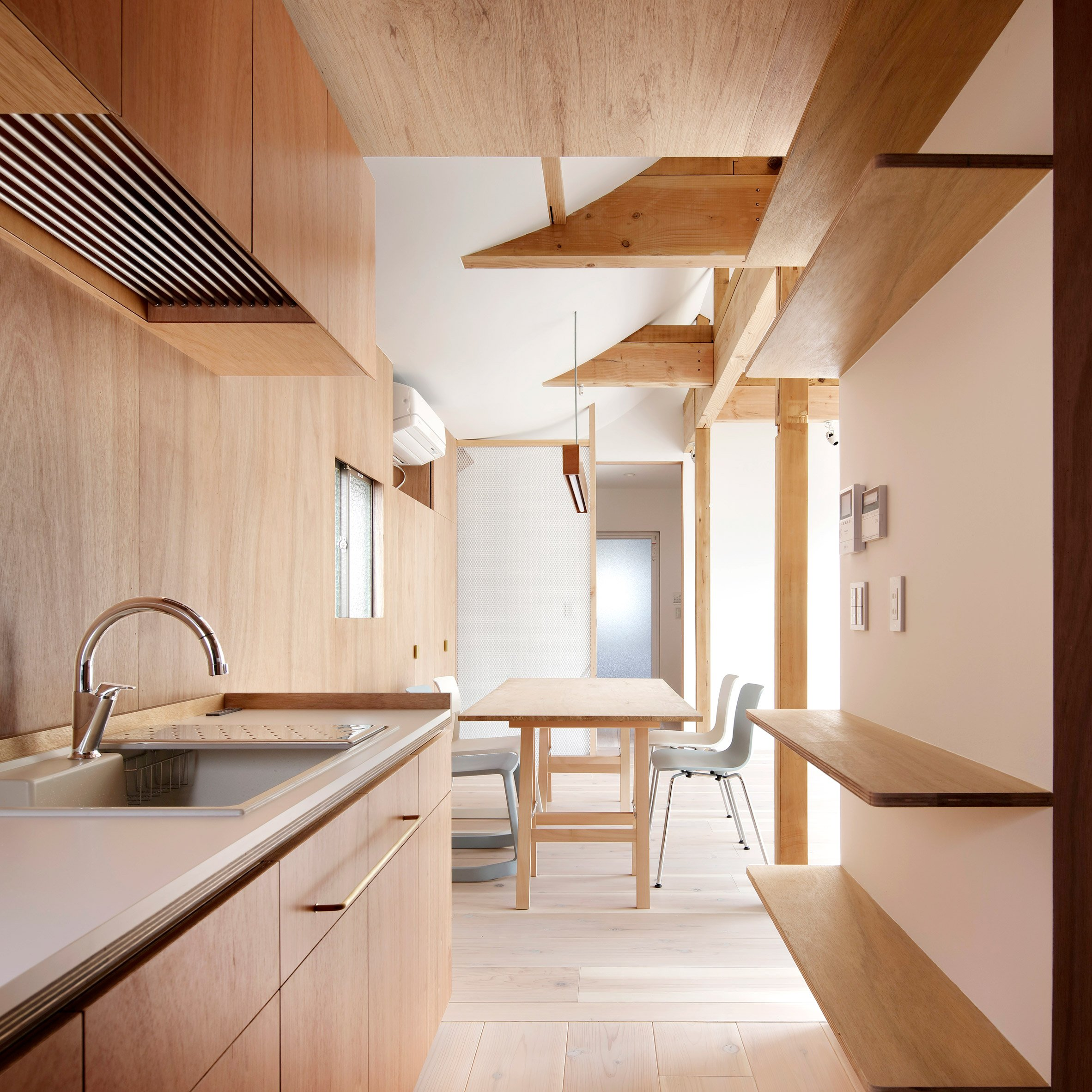 House for 4 Generations by Tomomi Kito
