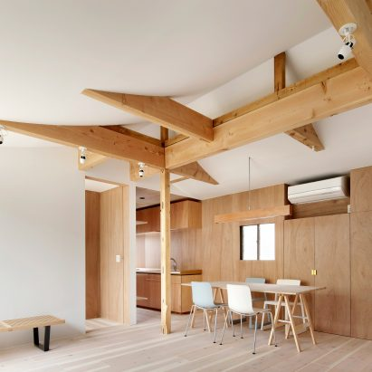 Tomomi Kito remodels Tokyo home to accommodate four generations of the same  family Japanese houses Dezeen