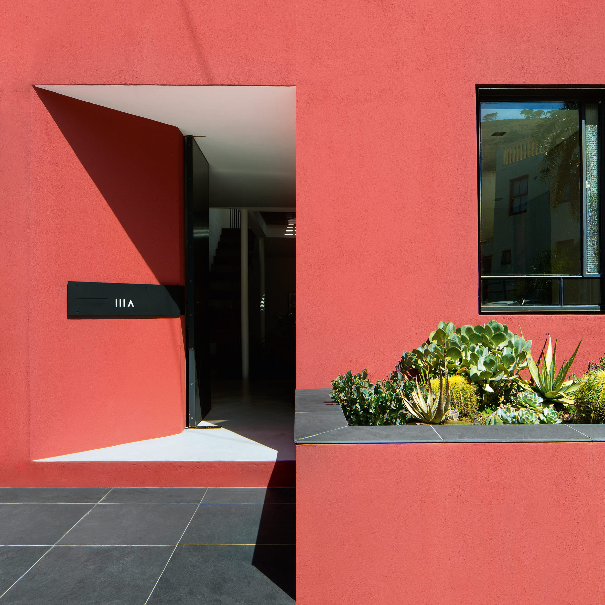 Rooftop Pool And Vertical Garden Feature In Fold Architects Pink