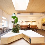 "Architecture Outfit ""went to Home Depot"" to furnish Humblefish poke restaurant in Tribeca"