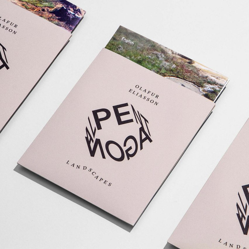 Identity for Olafur Eliasson's Pentagonal Landscapes exhibition