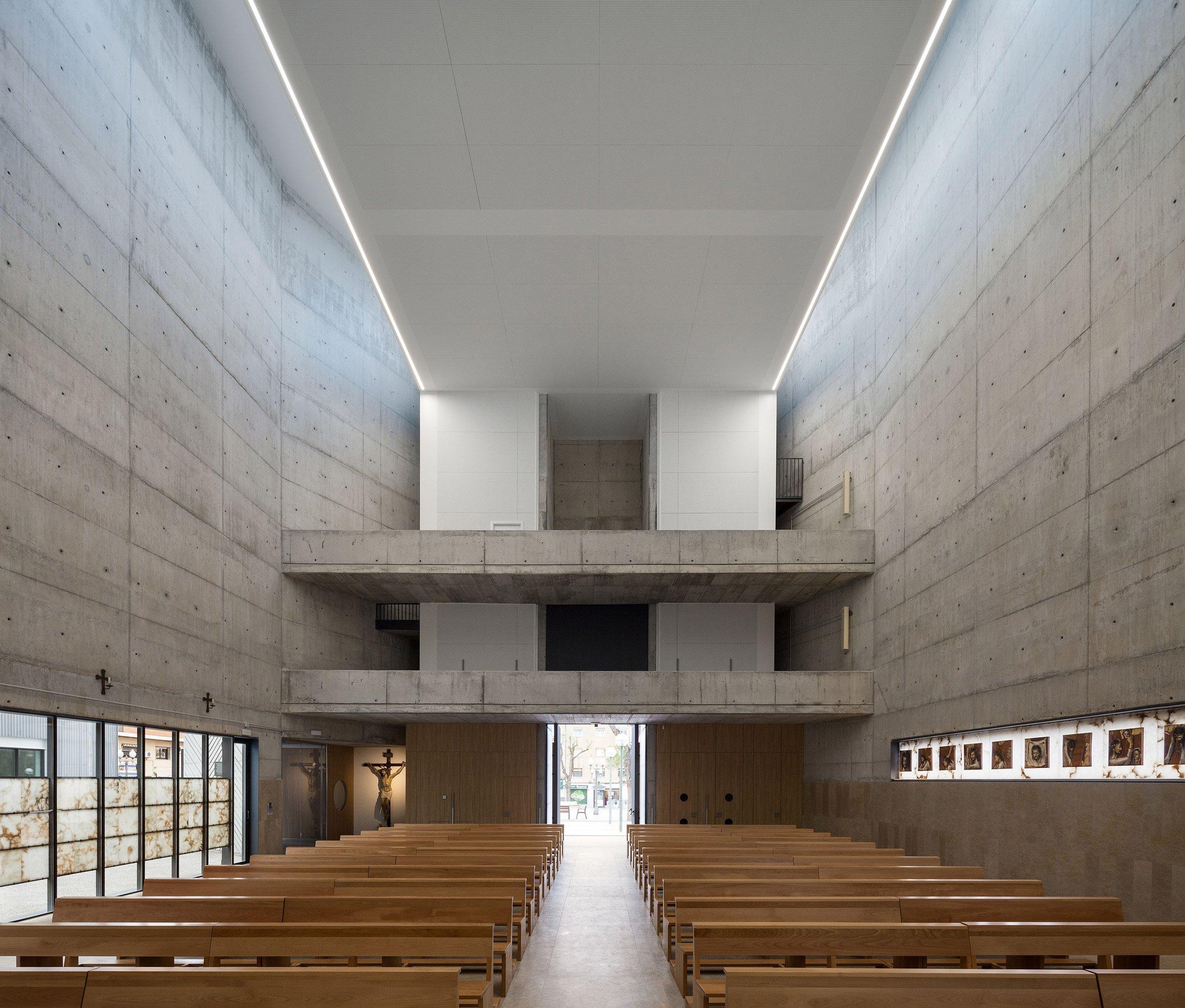 Iglesia Bonavista en Tarragona by Gimeno Guitart