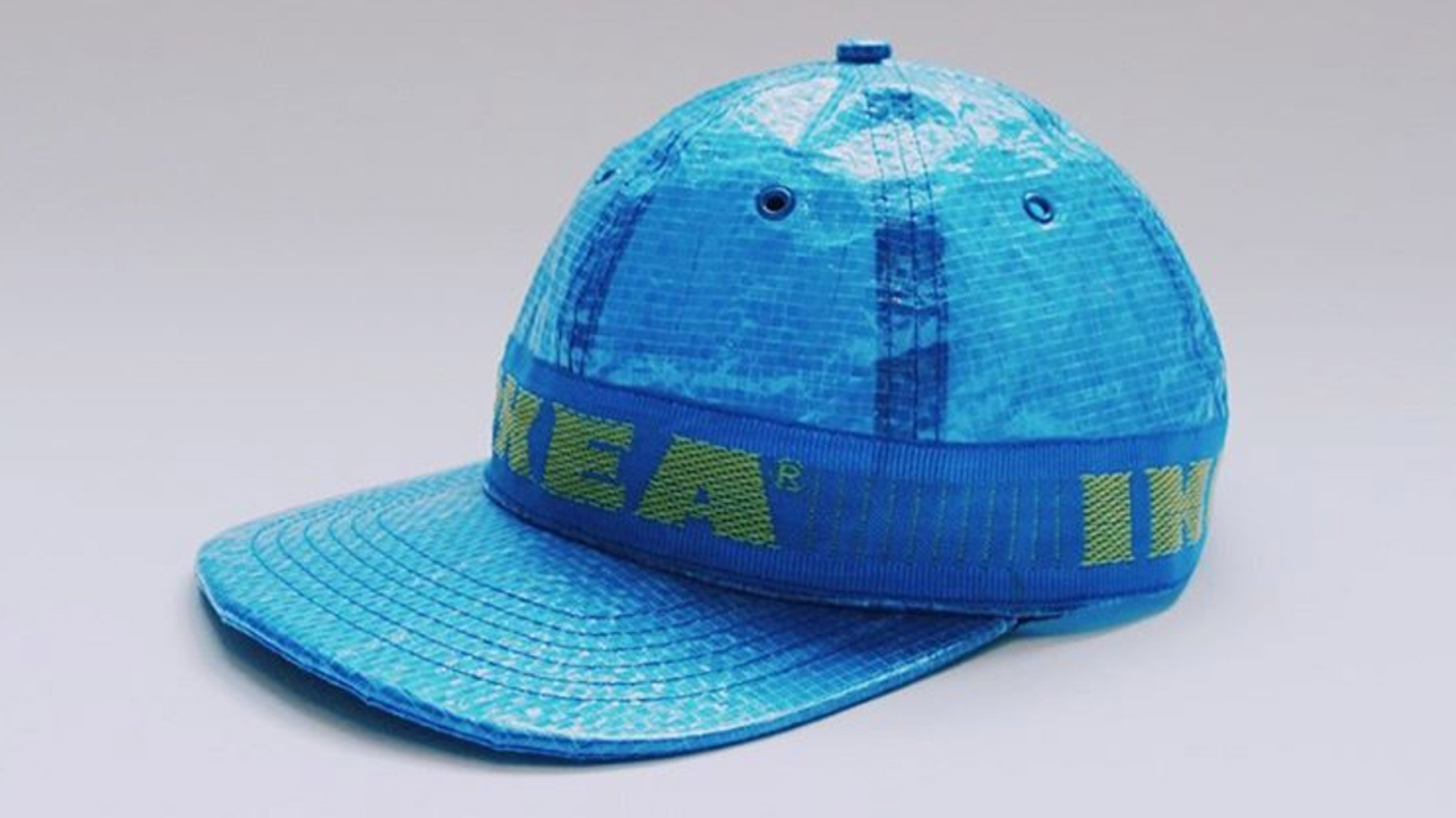 IKEAu0027s Blue Bag Has Been Reimagined As A $38 Baseball Hat