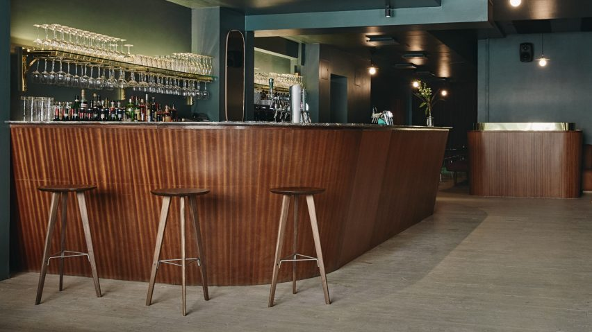 Retro Helsinki Bar Takes Its Design Cues From 60s And 70s Disco Music